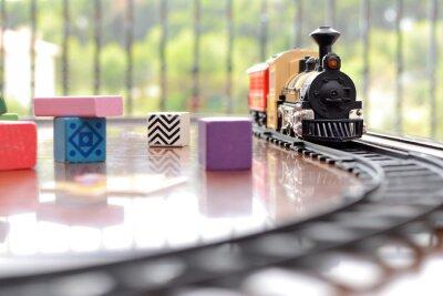 Adesivo Tren Giocattolo