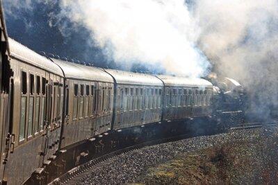 Adesivo Treno a vapore
