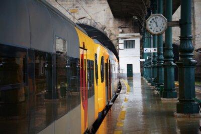 Adesivo Treno alla stazione