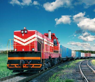 Adesivo treno merci