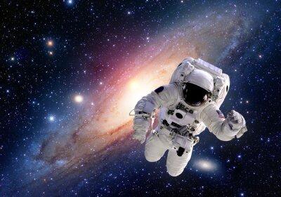 Adesivo Tuta astronauta Astronauta spazio esterno gente del sistema solare nell'universo. Elementi di questa immagine fornita dalla NASA.