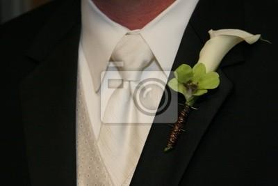 nera cali lilly cravatta camicia sposo uomo bianca ragazzo Tux 5XdwvqX