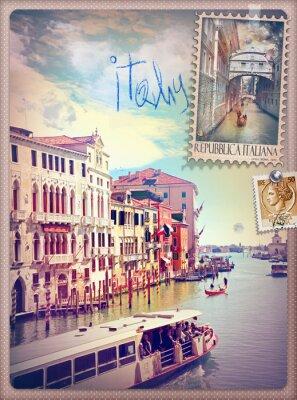 Adesivo Vacanze in Italia e Venezia serie