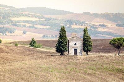 Adesivo Val D'Orcia in estate