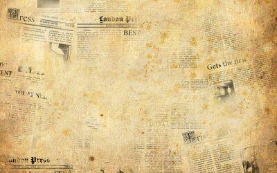 Adesivo Vecchi giornali sfondo