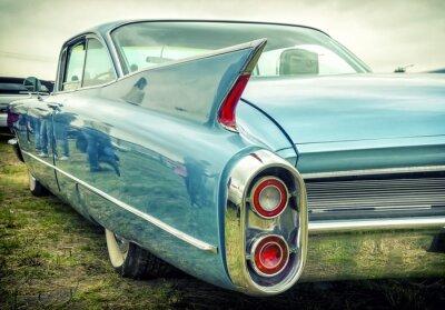 Adesivo Vecchia automobile americana in stile vintage