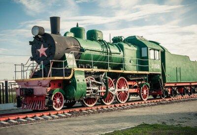 Adesivo vecchie locomotive a vapore del 20 ° secolo