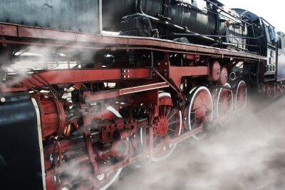 Adesivo Vecchie rotelle locomotive