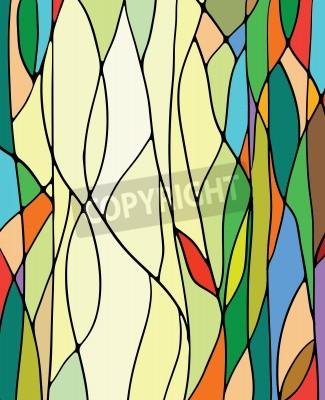 Adesivo Vetrate multicolore