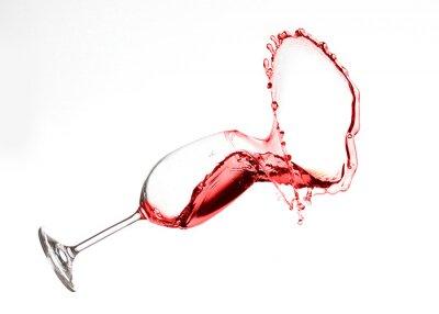 Adesivo Vino Splash