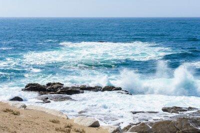 Adesivo vista delle onde sul mare