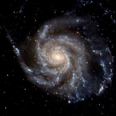 Adesivo Visualizza immagine di sistema Galaxy elementi di questa immagine fornita dalla NASA isolato
