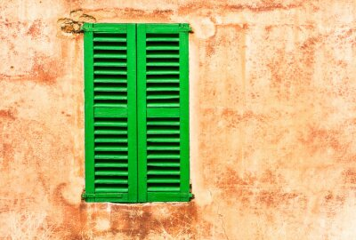 Adesivo Vivere Verde Shutters Hauswand Mediterraneo