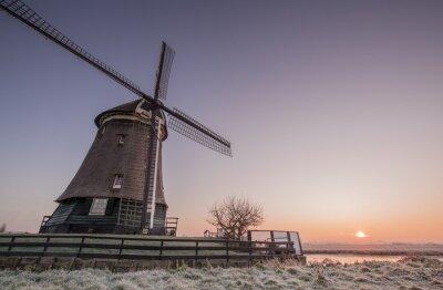 Adesivo Winter mill
