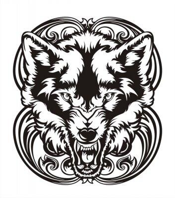 Adesivo WOLF