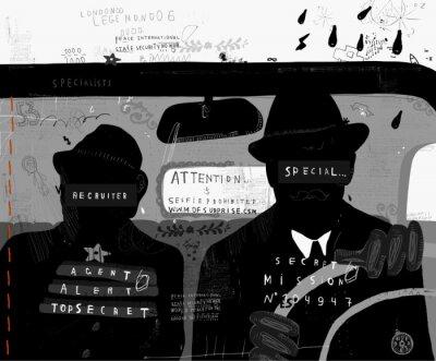 Adesivo Агенты