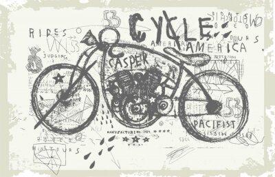 Adesivo Мотоцикл