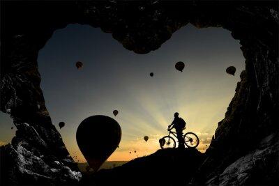 Adesivo Magara deliklerinden balonlara Bakış