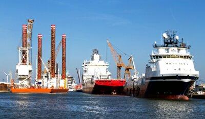 Adesivo Navi in porto