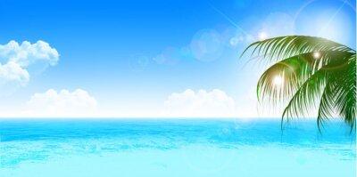 Adesivo 海 夏 風景 背景