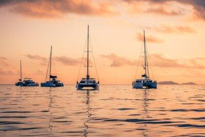 Adesivo Yachts ricreative presso l'Oceano Indiano