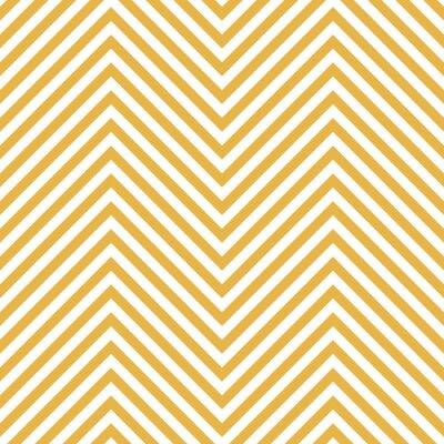 Adesivo Zigzag modello giallo. Wave Background in Vector