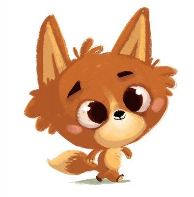 Adesivo  zorro pequeño