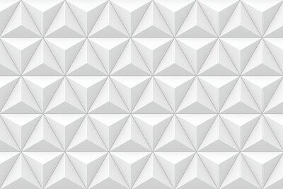 Carta da parati 3D geometrica trama triangolare