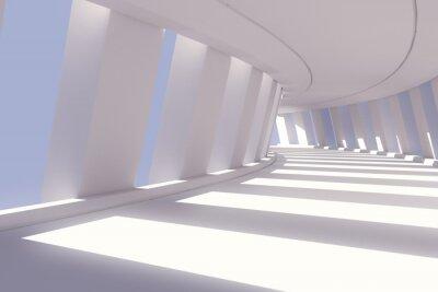 Carta da parati 3d rendering illustrazione