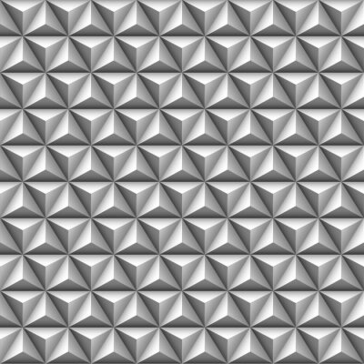Carta da parati 3d triangolo seamless pattern