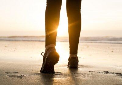 Carta da parati A piedi al tramonto