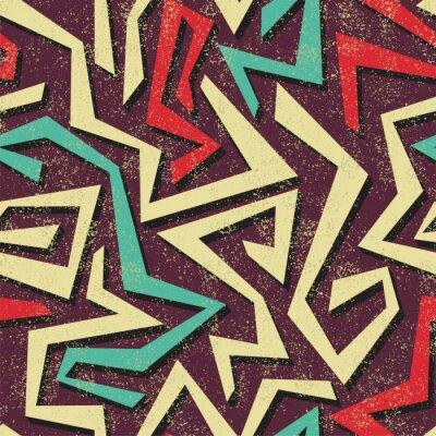 Carta da parati Absract graffiti seamless. Vettore