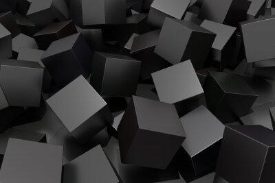 Carta da parati Abstract cube
