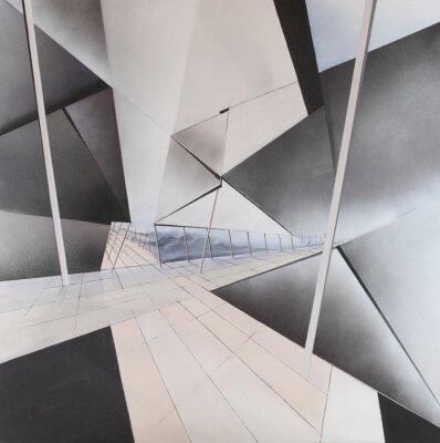 Carta da parati Abstract Painting
