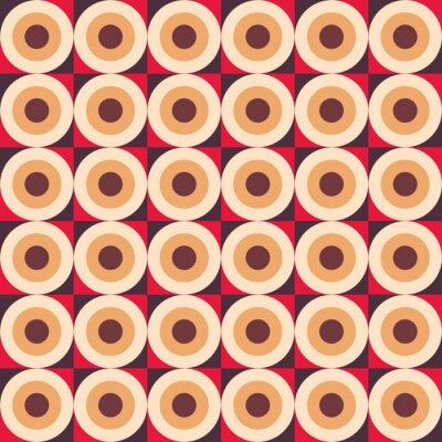 Carta da parati Abstract pattern senza soluzione di continuità