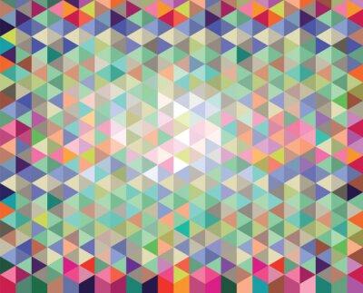 Carta da parati Abstrakter bunter vettoriale Hintergrund