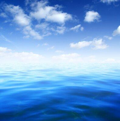 Carta da parati acqua di mare blu