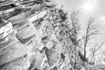 Carta da parati acqua e aria erosione