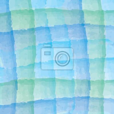 Acquerello Sfondo Astratto Azzurro E Colore Verde Carta Da Parati