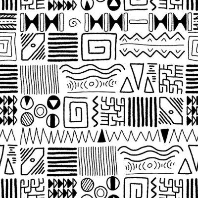 Carta da parati African pattern
