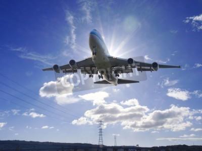 Carta da parati Airplane take off