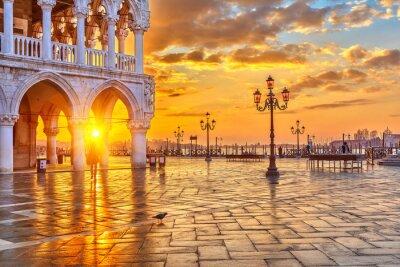 Carta da parati Alba a Venezia