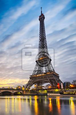 Carta da parati Alba alla Torre Eiffel, Parigi