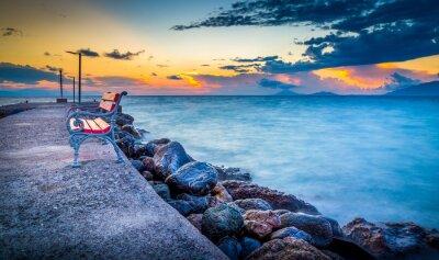 Carta da parati Alba sull'isola di Kos