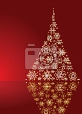 Immagini Natale Oro.Carta Da Parati Albero Di Natale Oro