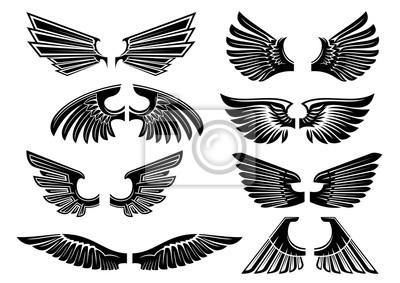 Ali Dangelo Tribali Per Laraldica O Tatuaggio Disegno Carta Da