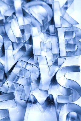 Carta da parati Alphabet & formazione