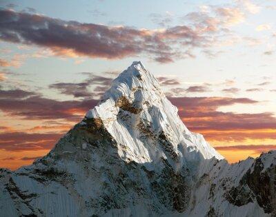 Carta da parati Ama Dablam sulla strada per Campo Base dell'Everest