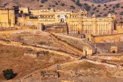 Carta da parati Amer Amber fort, Rajasthan, India