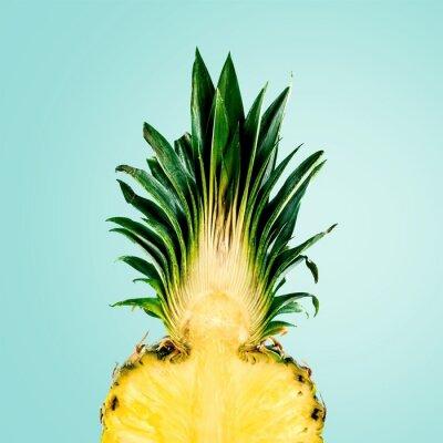 Carta da parati Ananas, frutta, isolato.